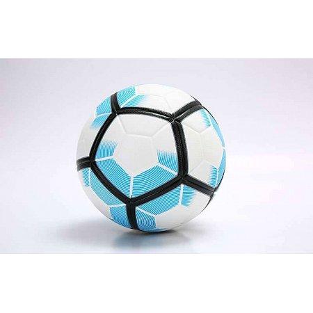 Мяч футбольный №5 PU ламин. Клееный FB-5927-1 PREMIER LEAGUE (№5, белый-голубой)