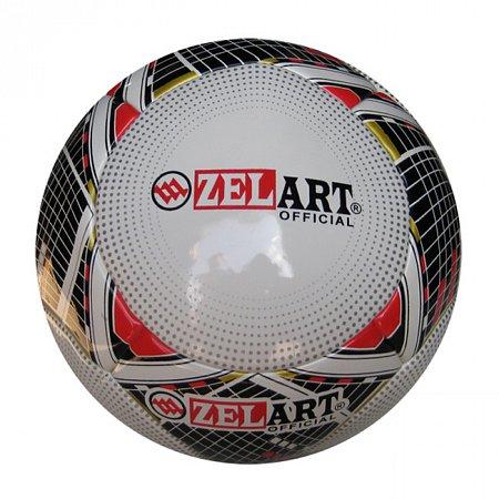 Мяч футбольный №5 PU ламин. Клееный ZELART FB-14P (№5, 5 сл., клееный)
