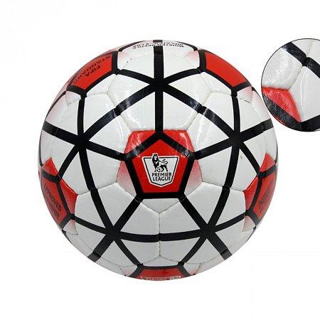 Мяч футбольный №5 PU ламин. PREMIER LEAGUE FB-4647 (№5, 5 сл., сшит вручную)