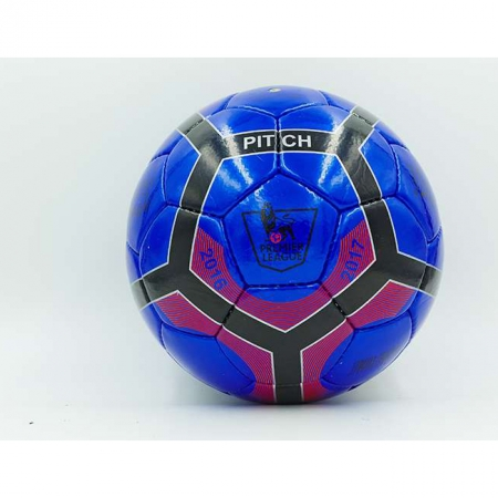 Мяч футбольный №5 PU ламин. PREMIER LEAGUE FB-5198 (№5, 5 сл., сшит вручную)