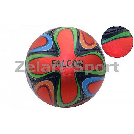 Мяч футбольный №5 PVC ламин. Cшит машинным способом BRAZUCA FB-4526-R (№5, красный)