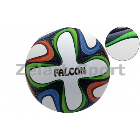 Мяч футбольный №5 PVC ламин. Cшит машинным способом BRAZUCA FB-4526-W (№5, белый)