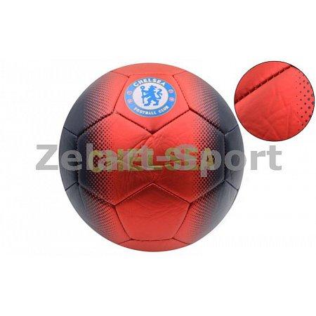 Мяч футбольный №5 PVC матовый Сшит машинным способом FB-4517-CH CHELSEA (№5, 5сл.)