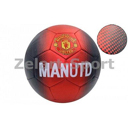 Мяч футбольный №5 PVC матовый Сшит машинным способом FB-4517-MAN MANCHESTER (№5, 5сл.)