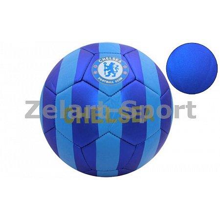 Мяч футбольный №5 PVC матовый Сшит машинным способом FB-4529-CH CHELSEA (№5, 5сл.)