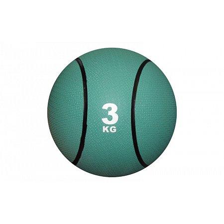 Мяч медицинский (медбол) C-2660-3 3кг (верх-резина, наполнитель-песок, d-22см, цвета в ассортименте)