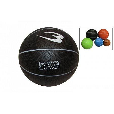 Мяч медицинский (медбол) SC-8407-5 5кг (верх-резина, наполнитель-песок, d-20см,цвета в ассортименте)