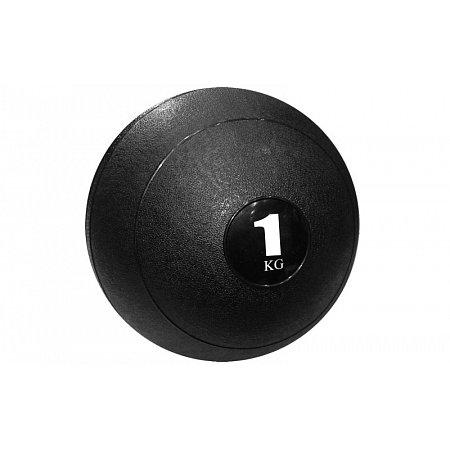 Мяч медицинский (слэмбол) SLAM BALL SBL001-1 1кг (верх-резина, наполн-песок, d-23см,цвета в ассорт)