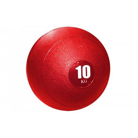 Мяч медицинский (слэмбол) SLAM BALL SBL001-10 10кг (верх-резина, наполн-песок,d-23см,цвета в ассорт)