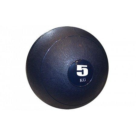 Мяч медицинский (слэмбол) SLAM BALL SBL001-5 5кг (верх-резина, наполн-песок, d-23см, цвета в ассорт)