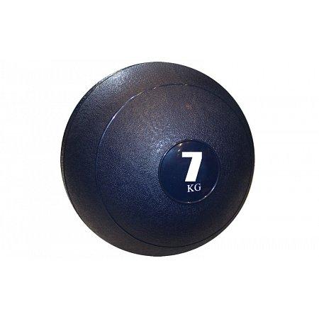 Мяч медицинский (слэмбол) SLAM BALL SBL001-7 7кг (верх-резина, наполн-песок, d-23см, цвета в ассорт)