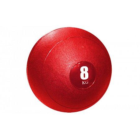 Мяч медицинский (слэмбол) SLAM BALL SBL001-8 8кг (верх-резина, наполн-песок, d-23см, цвета в ассорт)