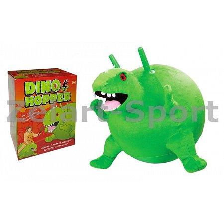 Мяч попрыгун с рожками Динозавр BA-3008 (резина, d-45см, 400г, PL чехол)