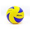 Мяч волейбольный Клееный PU MIKASA MVA-200 (PU, №5, 5 сл., клееный)