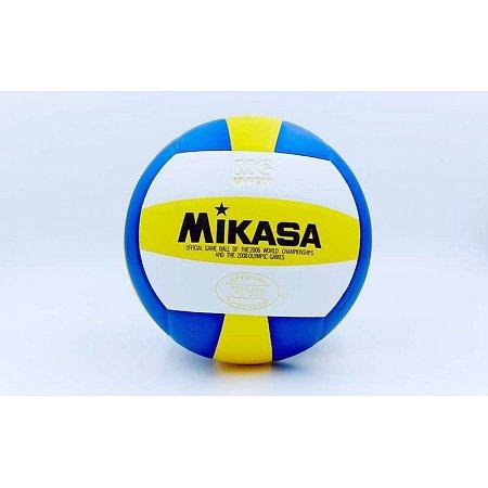 Мяч волейбольный Клееный PU MIKASA VB-0030 MVP-200 (PU, №5, 5 сл., клееный)