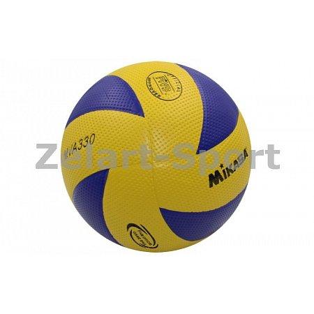 Мяч волейбольный Клееный PVC MIKASA VB-4516 MVA-330 (PVC, №5, 5 сл., клееный)