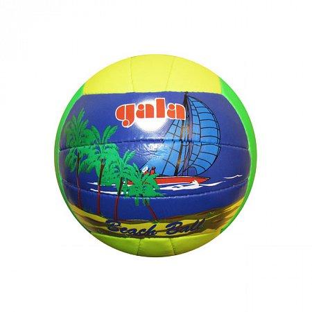 Мяч волейбольный пляжный GALA VB-1000ST (PVC, №5, 3 слоя, сшит вручную)