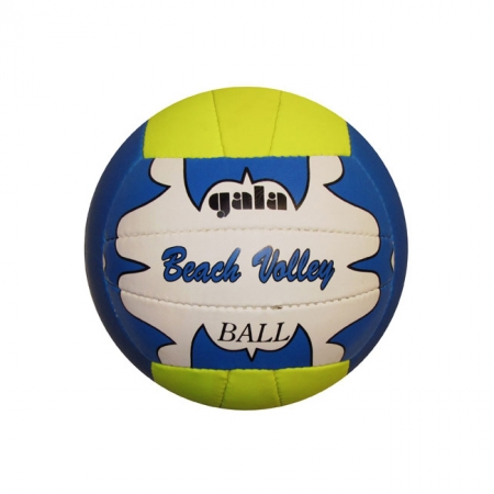 Мяч волейбольный пляжный GALA VB-1001ST (PVC, №5,  3 слоя, сшит вручную)