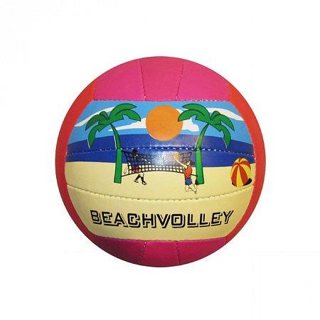 Мяч волейбольный пляжный GALA VB-1002ST (PVC, №5, 3 слоя, сшит вручную)