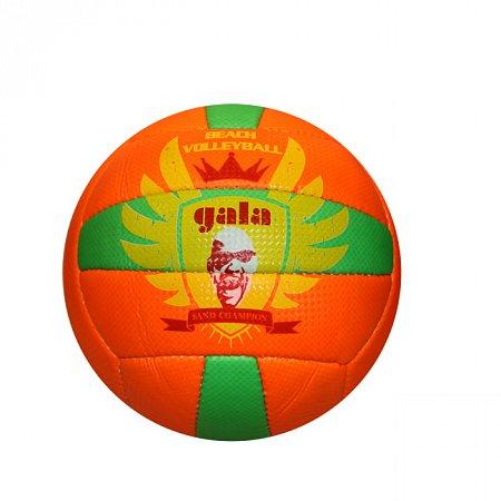Мяч волейбольный пляжный GALA VB-5114 (PVC, №5, 3 слоя, сшит вручную)