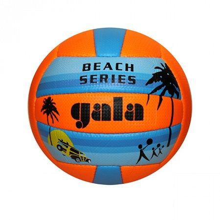 Мяч волейбольный пляжный GALA VB-5115 (PVC, №5, 3 слоя, сшит вручную)