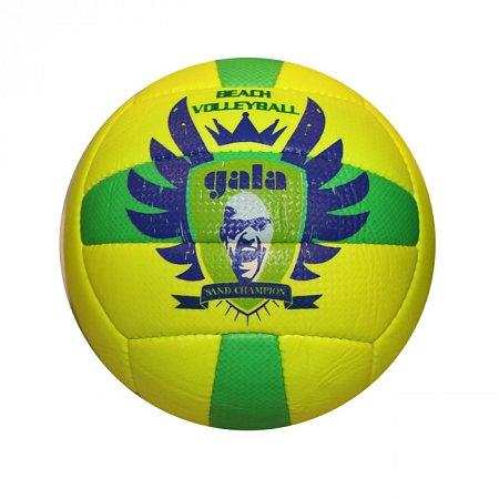 Мяч волейбольный пляжный GALA VB-5117 (PVC, №5, 3 слоя, сшит вручную)