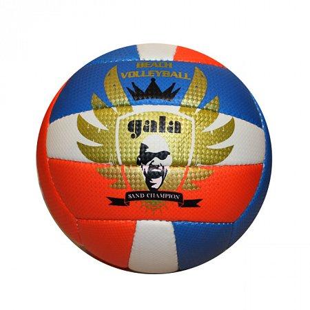 Мяч волейбольный пляжный GALA VB-5118 (PVC, №5, 3 слоя, сшит вручную)