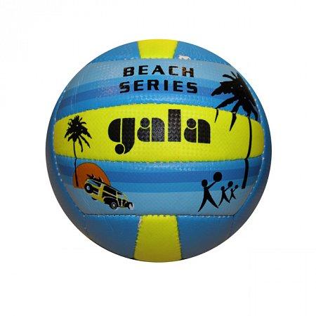 Мяч волейбольный пляжный GALA VB-5119 (PVC, №5, 3 слоя, сшит вручную)