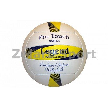 Мяч волейбольный PU LEGEND LG2019 (PU, №5, 3 слоя, сшит вручную)