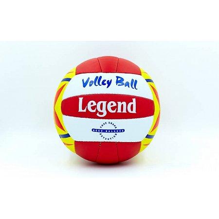 Мяч волейбольный PU LEGEND LG5188 (PU, №5, 3 слоя, сшит вручную)