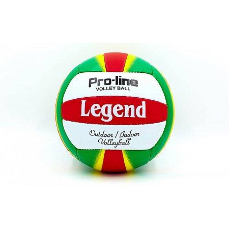 Мяч волейбольный PU LEGEND LG5189 (PU, №5, 3 слоя, сшит вручную)