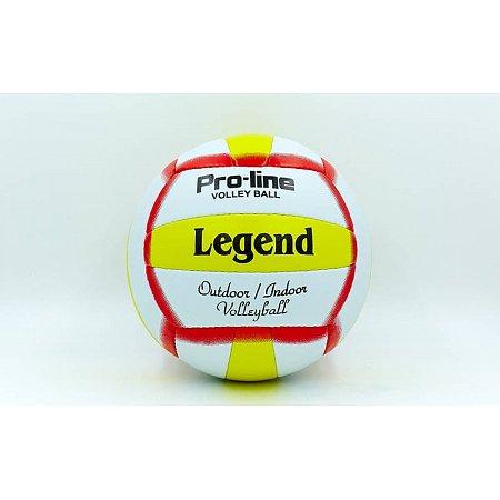 Мяч волейбольный PU LEGEND LG5193 (PU, №5, 3 слоя, сшит вручную)