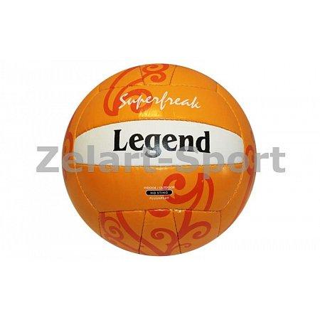 Мяч волейбольный PU LEGEND VB-3561 (PU, №5, 3 слоя, сшит вручную)