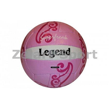 Мяч волейбольный PU LEGEND VB-3562 (PU, №5, 3 слоя, сшит вручную)
