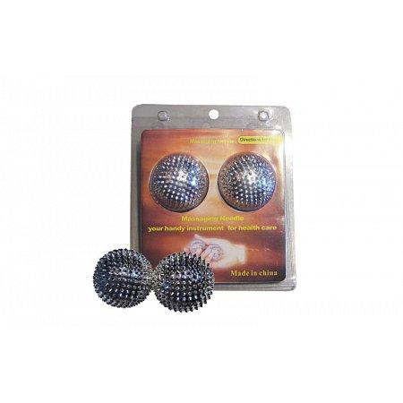 Мячик аппликатор Ляпко игольчатый (2шт) ZD-2122 Massaging Needle (d-4,5см)