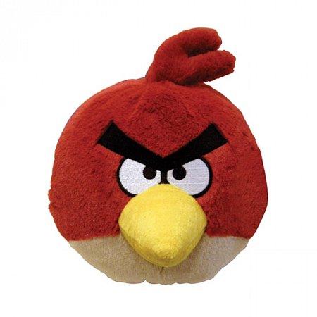 Мягкая игрушка - ANGRY BIRDS (птичка красная, озвуч., 20см), 90899
