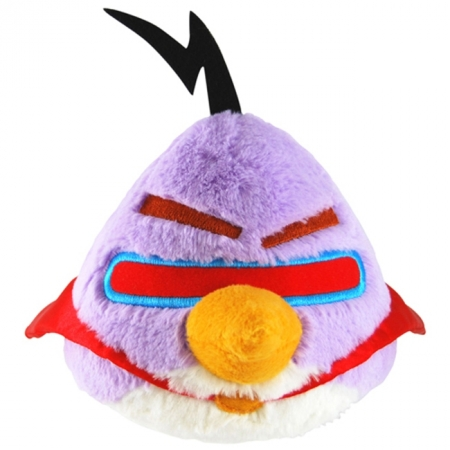 Мягкая игрушка - ANGRY BIRDS SPACE (птичка лазерная, озвуч., 20см), 92675