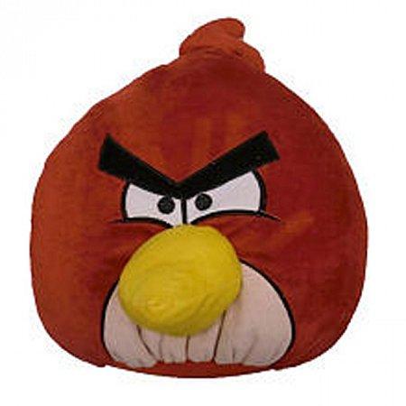 Мягкая игрушка антистрессовая - ANGRY BIRDS (птичка красная, 30 см), SC122413/12