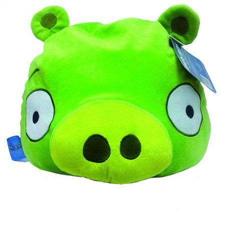 Мягкая игрушка антистрессовая - ANGRY BIRDS (свинка зеленая, 25 см), SC12284/10