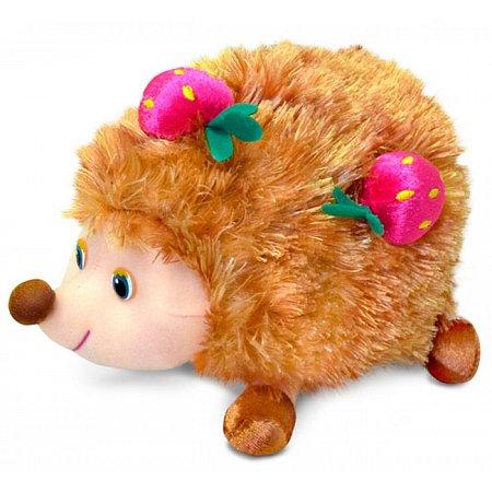 Мягкая игрушка Ежик с ягодами (музыкальная, 18 см), Lava, LF615