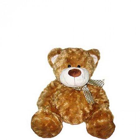 Мягкая игрушка Grand - МЕДВЕДЬ (коричневый, с бантом, 25 см), 2502GM Grand