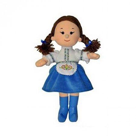 Мягкая кукла Калина, серия Украинские девчата (озвучена на украинском, 24 см), Lava, LF1240