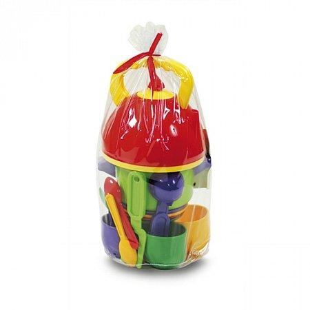 Набір дитячого посуду з чайником та каструльою (16 предметів), Юніка, 0316