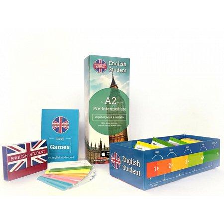 Набір флеш-карток для вивчення англійської мови English Student - Pre-Intermediate (А2)