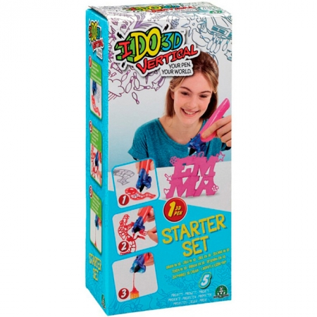 Набор для детского творчества с 3D-маркером Алфавит, IDO3D, 155836