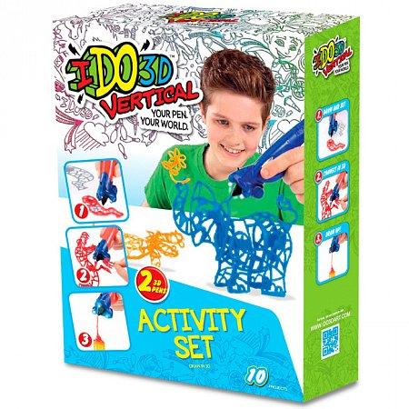 Набор для детского творчества с 3D-маркером Зоопарк, IDO3D, 155249