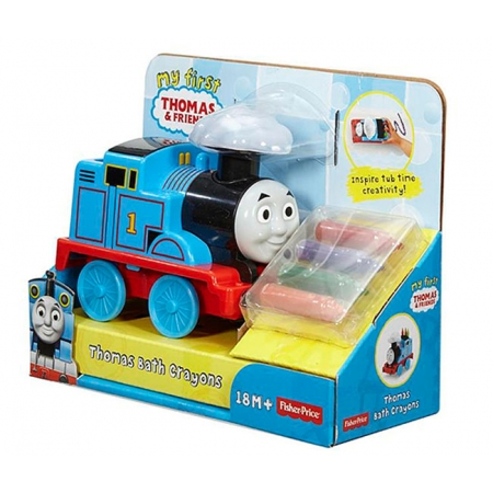Набор для купания Fisher-Price Томас-художник. Thomas & Friends, Mattel, DGL05