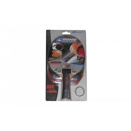 Набор для наст. тенниса DONIC (1рак+2накл) LEVEL 600 MT-752518 BAT QRC (древесина, резина)