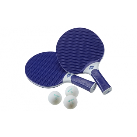 Набор для наст. тенниса DONIC (2рак+3шар+PVCчехол) MT-788658 ALLTEC HOBBY (пластик, резина)