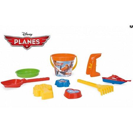Набор для песка Самолетики Disney 9 элементов. Wader, 77335